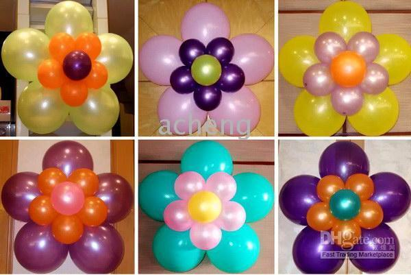 Modern interior balloons decorations bouquets for Balloon decoration designs