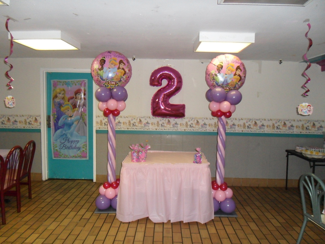 Disney Theme Decorations Disney Princess Party Party Decorations By Teresa