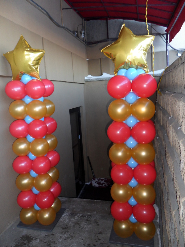 Grand opening party decorations by teresa for 7 star balloon decoration