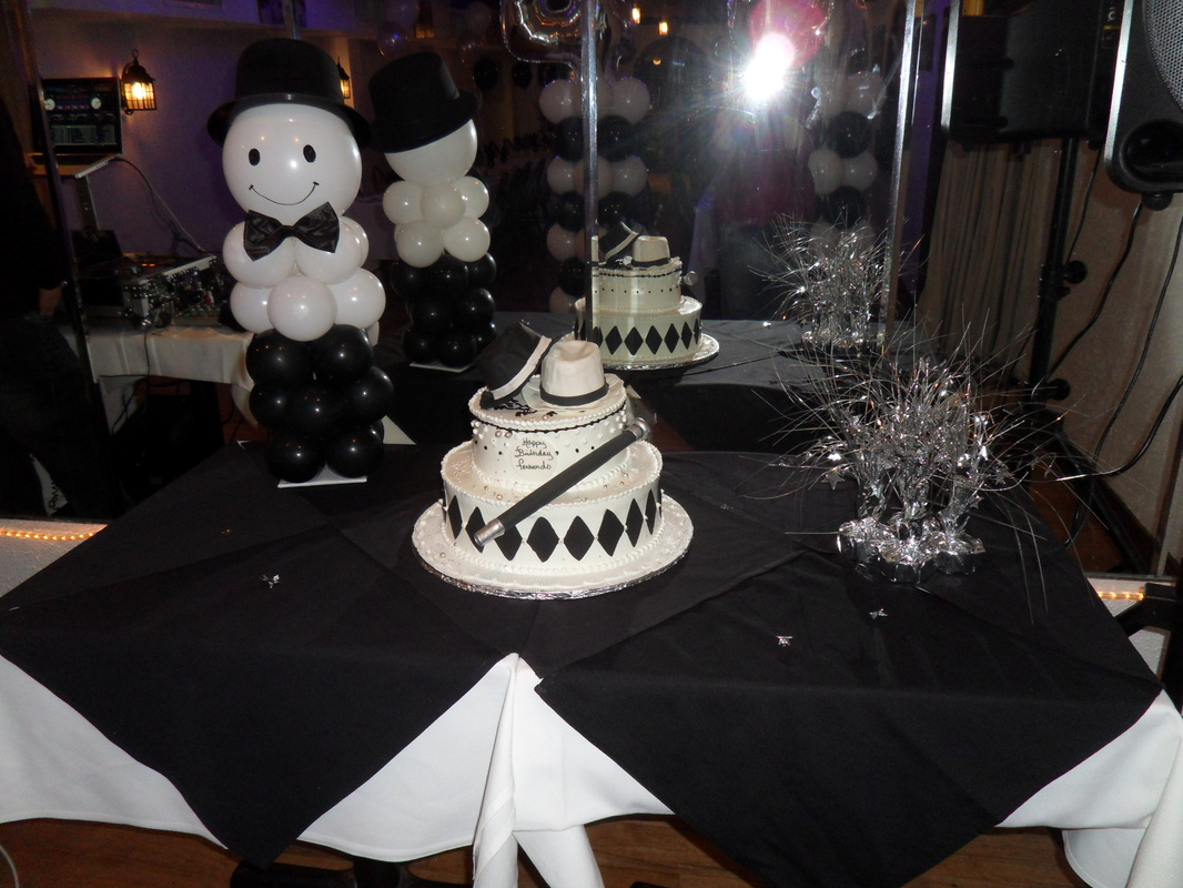 Black and silver party decorations party favors ideas - Black silver and white party decorations ...