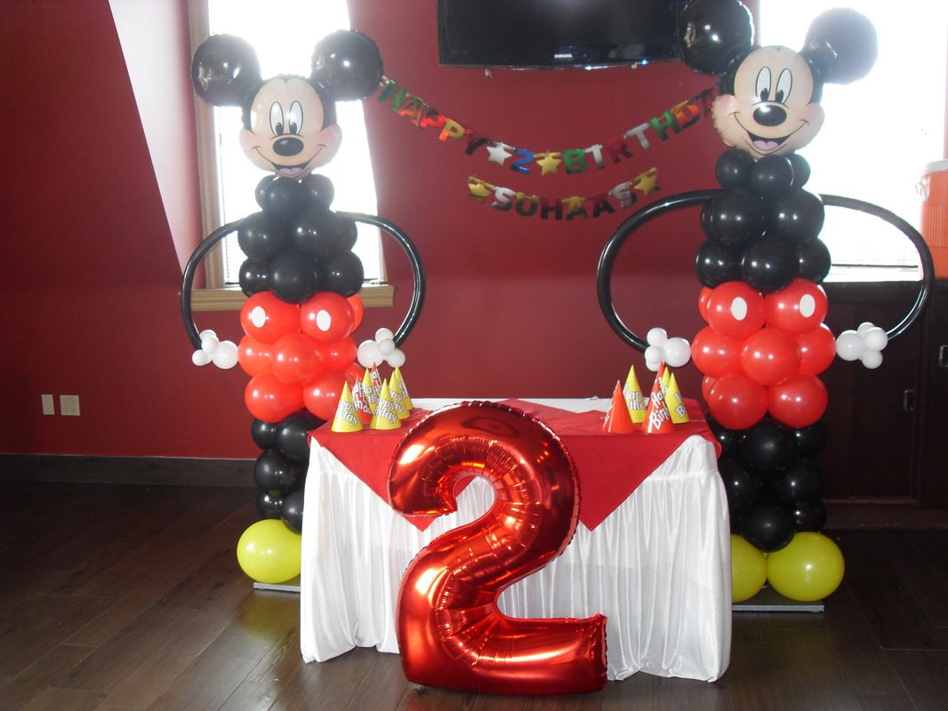 MICKEY MOUSE PARTY - PARTY DECORATIONS BY TERESA
