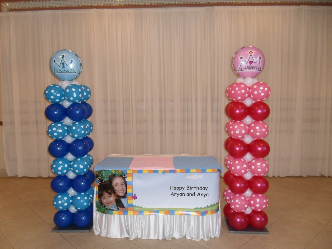 PRINCE AND PRINCESS - PARTY DECORATIONS BY TERESA