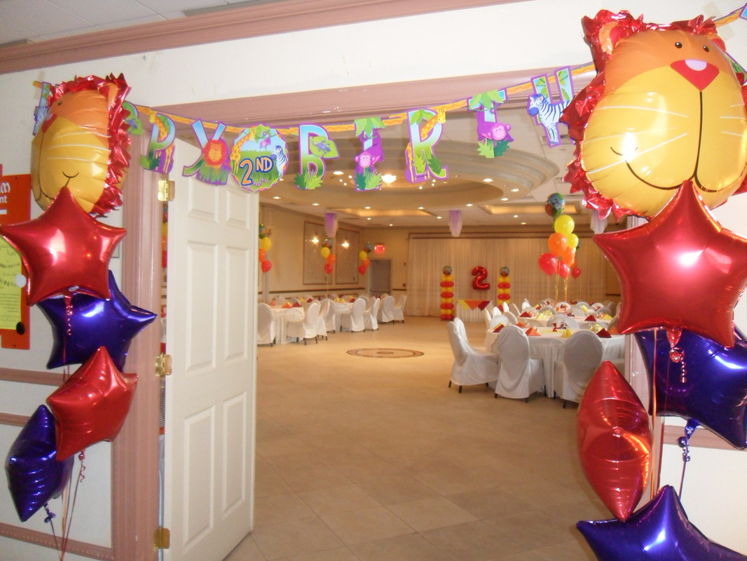 JUNGLE ANIMALS - PARTY DECORATIONS BY TERESA