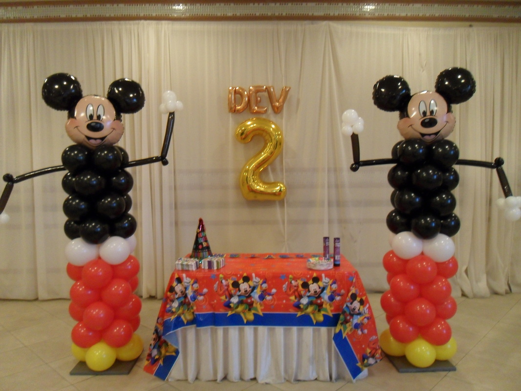 mickey mouse party 2 party decorations by teresa. Black Bedroom Furniture Sets. Home Design Ideas