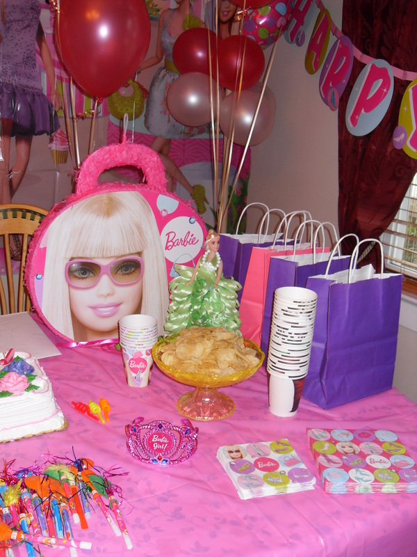 BARBIE PARTY - PARTY DECORATIONS BY TERESA