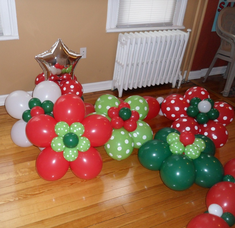 christmas flower party decorations by teresa