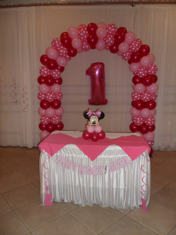 MINNIE MOUSE PARTY 3 - PARTY DECORATIONS BY TERESA