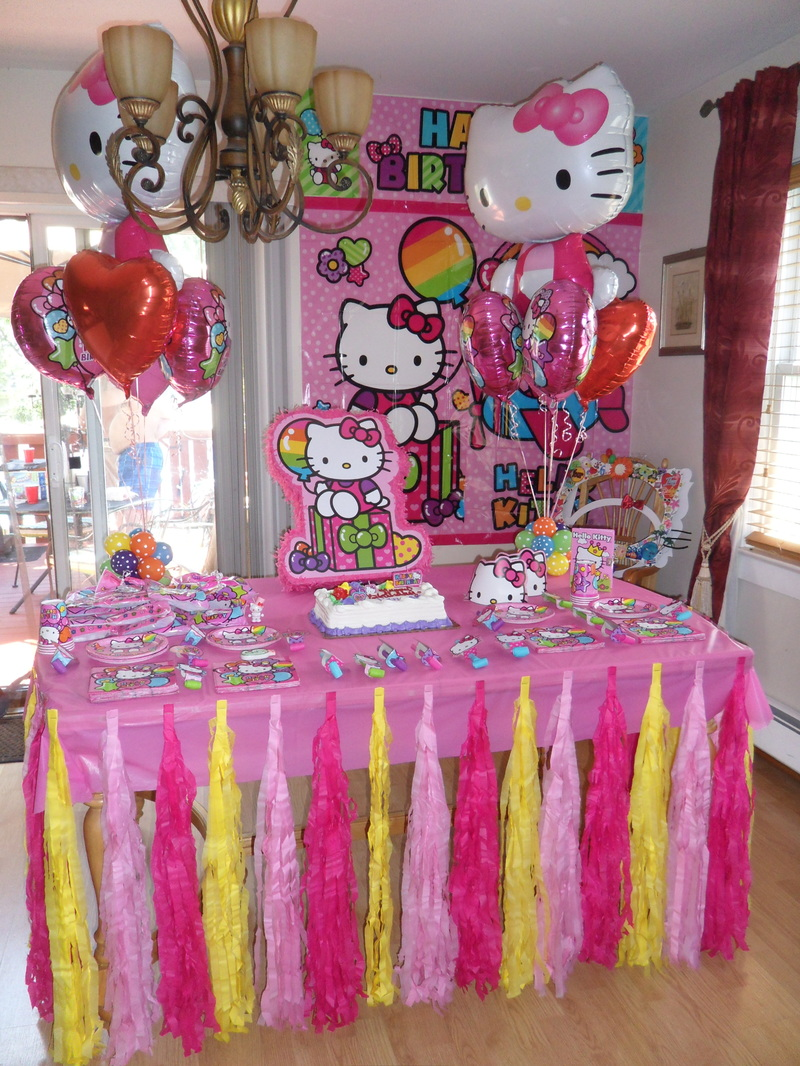 Hello Kitty Party Party Decorations By Teresa