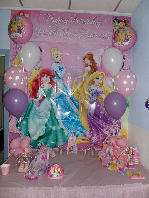 Princess Party 4 Party Decorations By Teresa