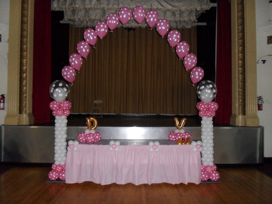 Baptism Balloon Arch Party Decorations By Teresa