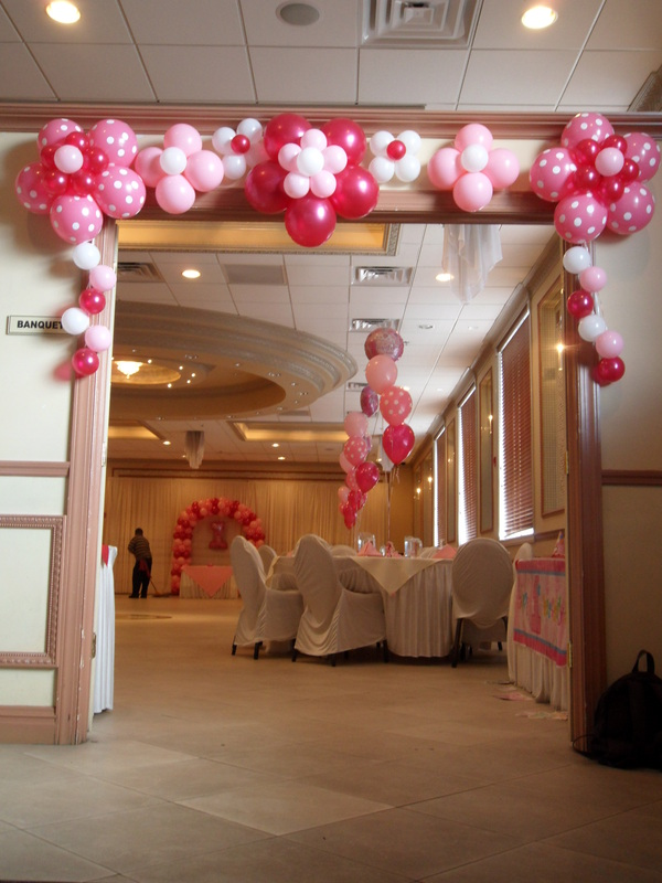 Princess party 3 party decorations by teresa for 21st birthday hall decoration ideas
