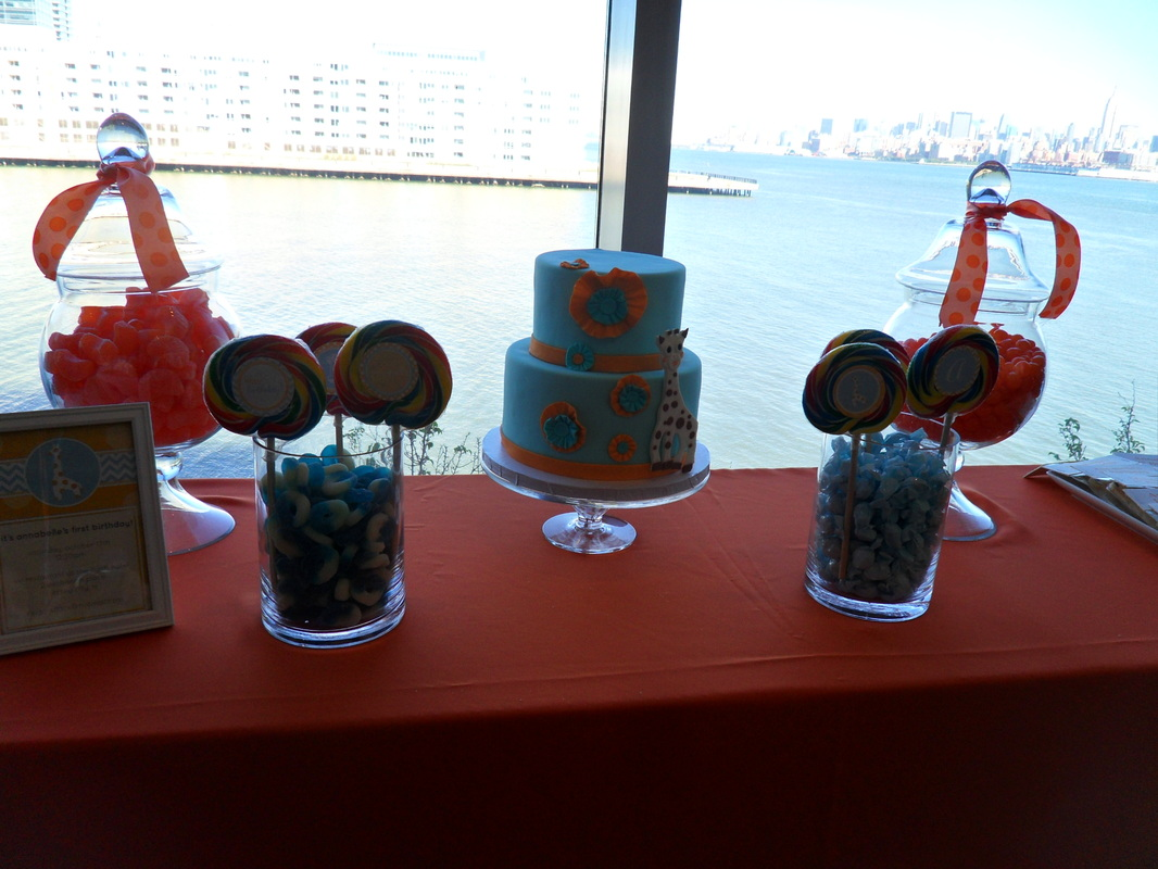 Orange And Blue Party Party Decorations By Teresa