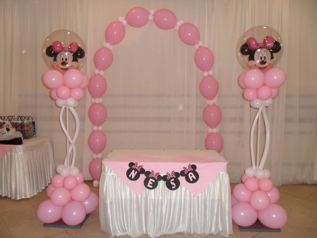 Minnie Mouse Party 2 Party Decorations By Teresa