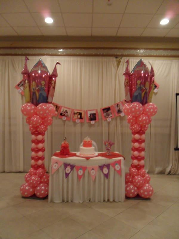 Princess Party 5 Party Decorations By Teresa